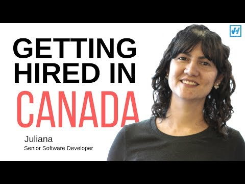 How Juliana Got Hired In Canada As A Senior Software Developer