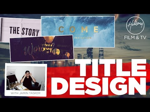 3 helpful tips on Title Design