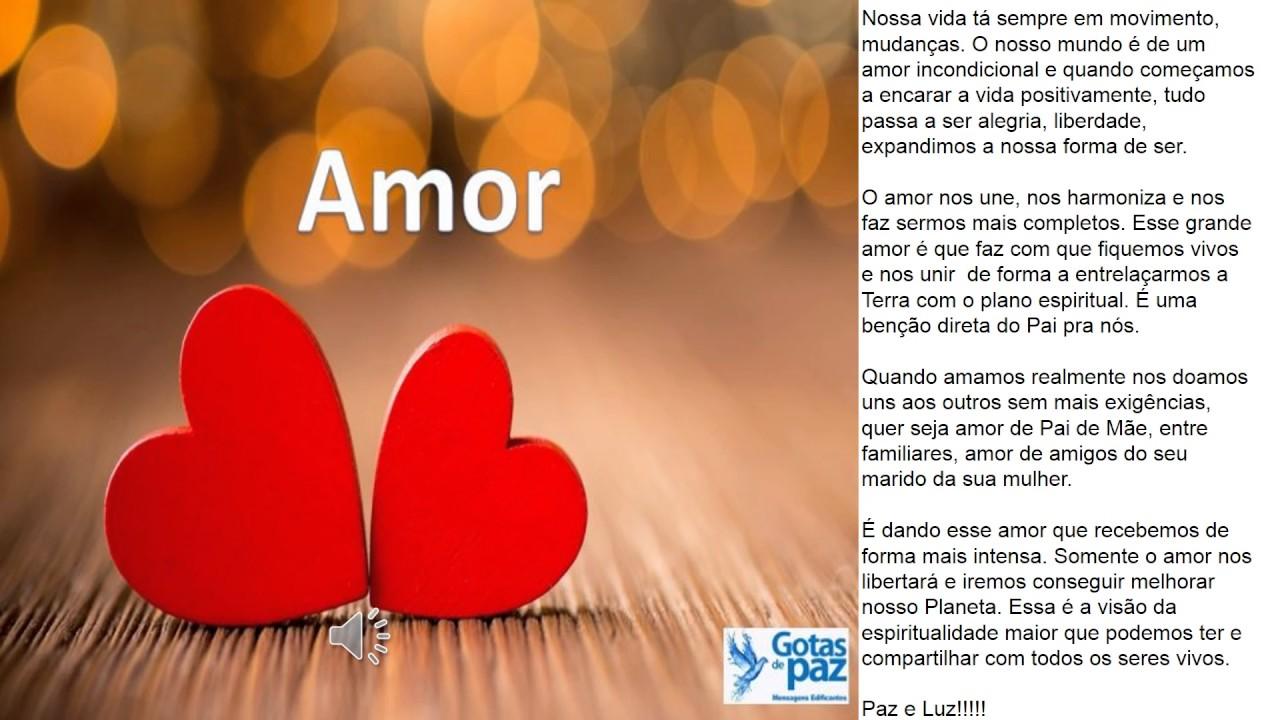 Mensagem Sobre Amor Ao Próximo: AMOR AO PRÓXIMO(Áudio)