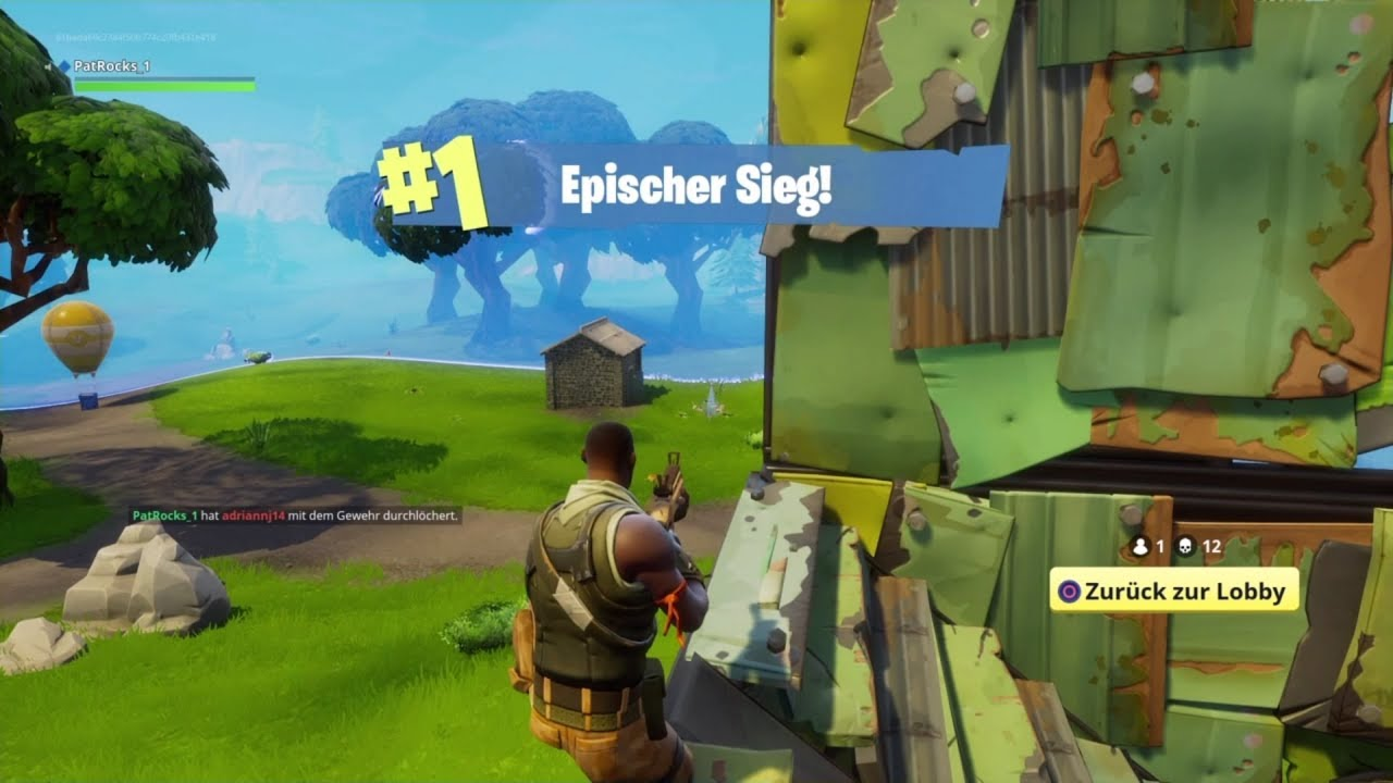 Shooting Gallery Absolute Killing Madness Fortnite Battle Royale