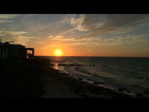 Chelem Mexico Timelapse Sunset