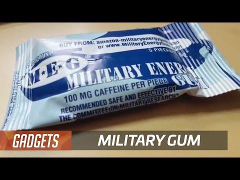 Doug chews military-grade caffeinated gum | 12 Days of Doug