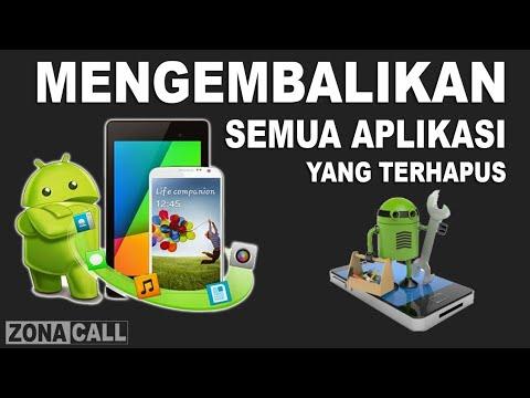 Tutorial Cara Mengembalikan Aplikasi Bawaan Yang Terhapus Hilang Di Hp Android Youtube