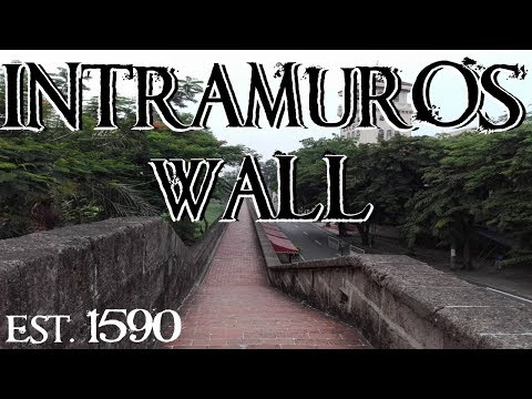 The Wall of Intramuros (The Walled City - Manila, Philippines)