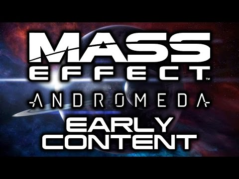 MASS EFFECT ANDROMEDA: Early Access Content Schedule! (Streams, Multiplayer, and Beginner's Guides)