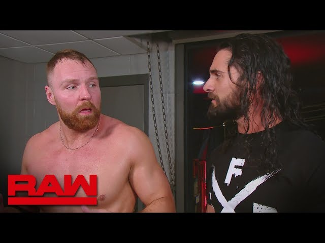 Dean Ambrose wonders why Seth Rollins didn't have his back: Raw, Feb. 18, 2019