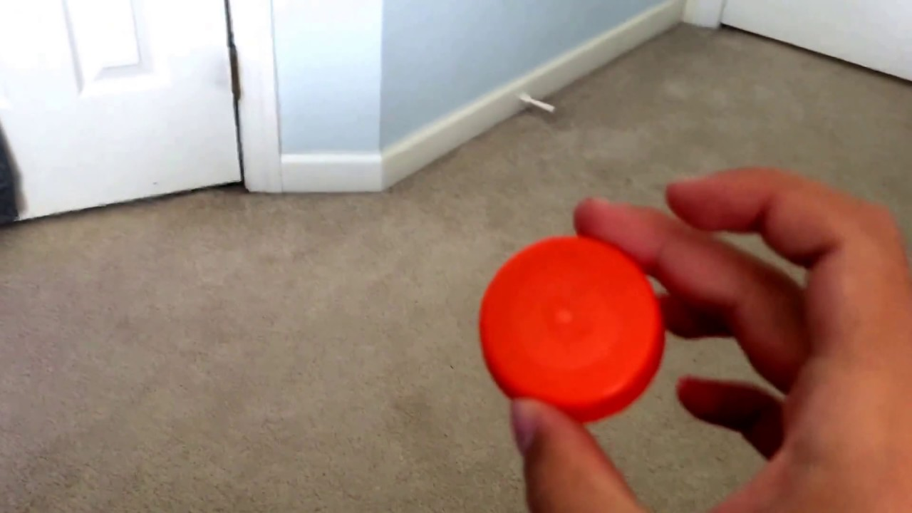 how to make a frisbee out of a gatorade cap amazing youtube