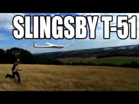 slope soaring the slingsby dart 17