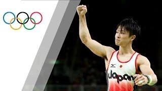 Japan's Uchimura wins Men's Artistic Gymnastics Individual All Around gold