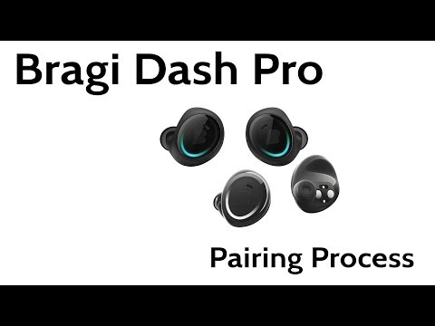 Bragi Dash Pro Bluetooth Pairing Process Reset