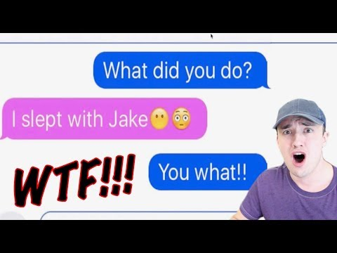 My Girlfriend Cheated (Texting Story) Reaction