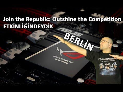 Asus, Berlin'de Yepyeni ROG Oyuncu Ürünlerini Tanıttı. Biz de Oradaydık!