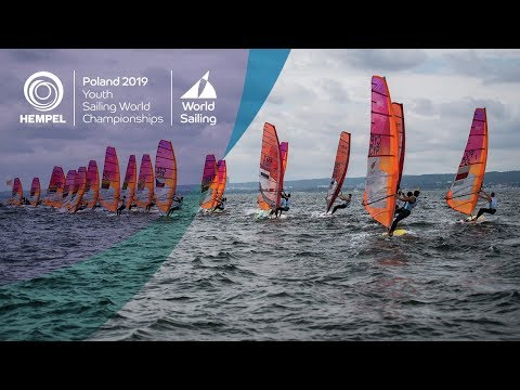 Day 2 Highlights | Hempel Youth Sailing World Championships: Gdynia 2019