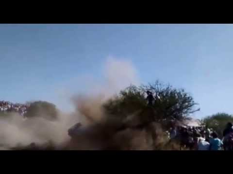 Mirá los nuevos videos del grave accidente del Rally