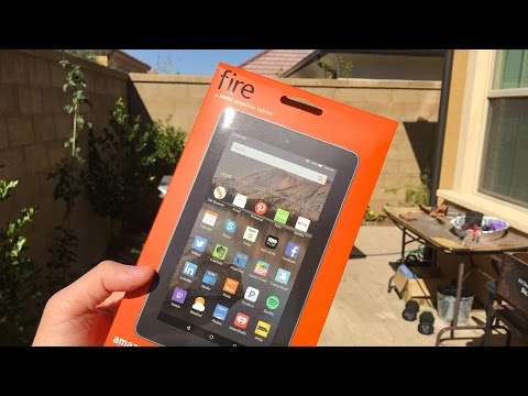 Amazon Kindle Fire Tablet - Unboxing and First Impressions