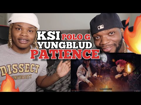 KSI – Patience (feat. YUNGBLUD \u0026 Polo G) [Official Audio] - REACTION