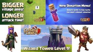 Sneak Peek / Nuevo Nivel de Almacenes / Torre de mago / Laboratorio / Clash Of Clans / Coc