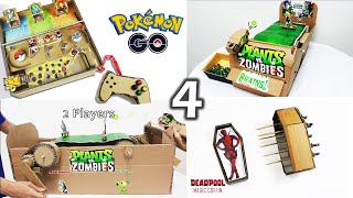 Top 4 Diy Creations From Cardboard Compilation