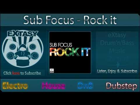 [eX-Music] // Sub Focus - Rock It [HD]