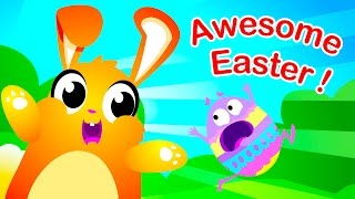 🔴 Awesome Easter! Chocolate, Eggs & Dinosaurs by Little Angel: Nursery Rhymes and Kid's Songs