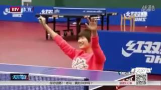 ma long vs ding ning with their non master hands