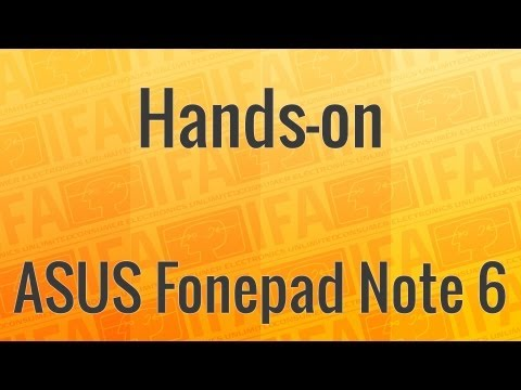 Hands-on: ASUS Fonepad Note 6 | BestBoyZ