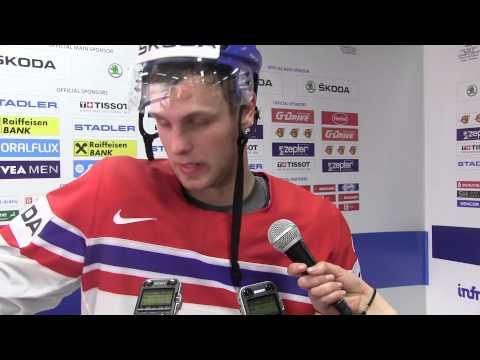 Vladimír Sobotka po utkání s Kanadou