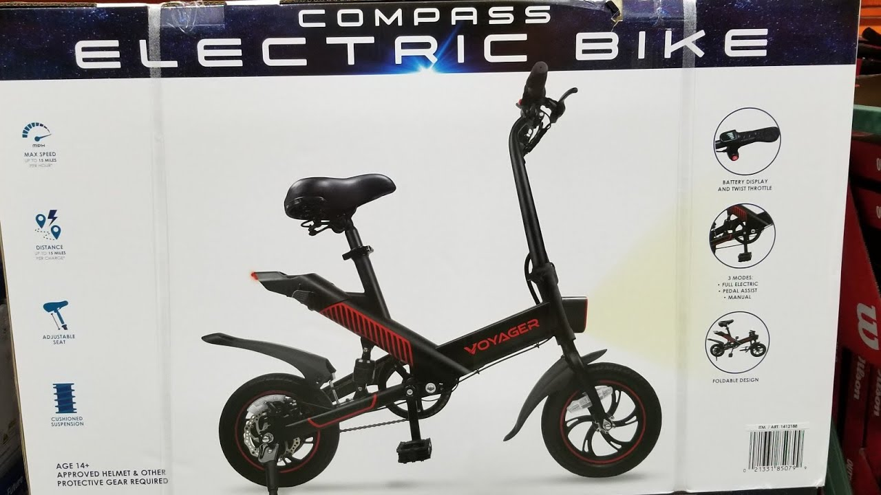 Costco Compass Voyager Electric Bike 399 Youtube