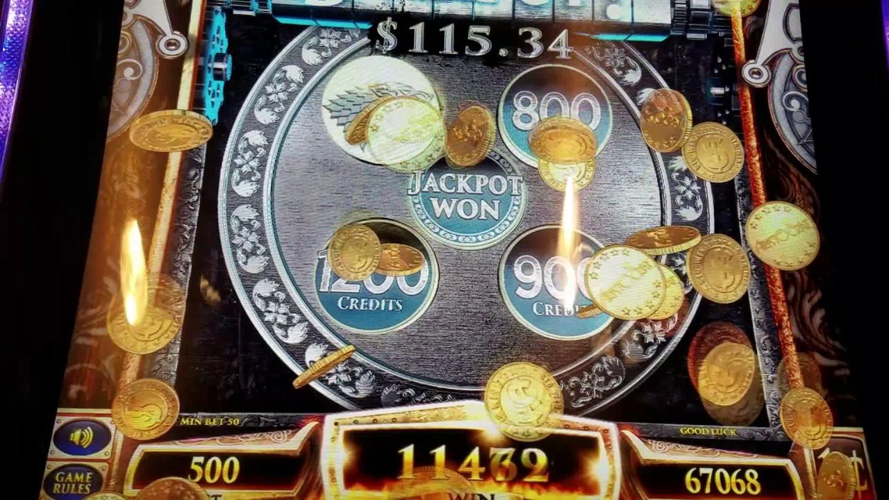 Game of Thrones Slot Machine 5.00 Max Bet Bonus! - YouTube