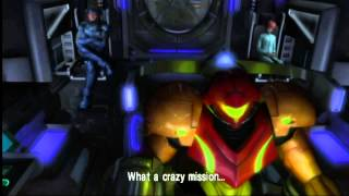 Metroid Other M - Sector Zero + Queen Metroid + Ending + Escape sequence