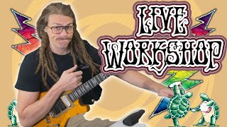 Live Solo Workshop #5- Pacing and Building Solos and Guitar Build Update | Play Dead
