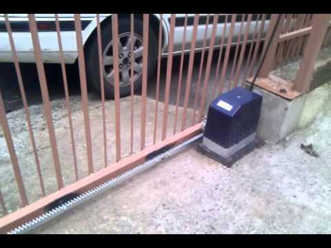 Motor De Cremallera Portones Popeye Youtube