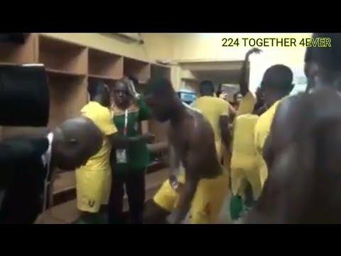 Syli National - Ambiances et réactions des joueurs après la qualification de l'équipe à la CAN 2019
