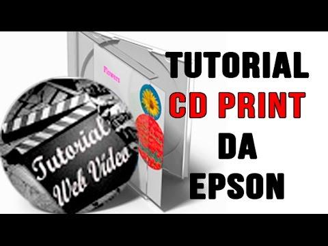 Tutorial Epson Print CD em português