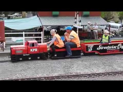 Our day at Kierunga Park Railway Havelock North Hawkes Bay New Zealand 24 October 2016