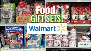 Walmart SHOPPING FOOD GIFT SETS - WALK-THROUGH * SHOP WITH ME 2019