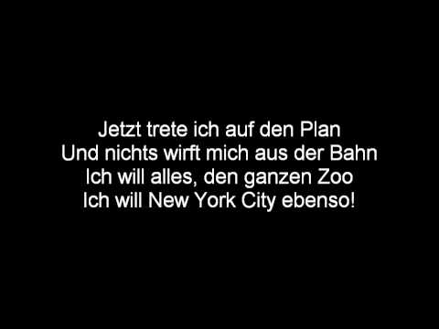 (German) The Penguins of Madagascar - Brand New Plan Lyrics