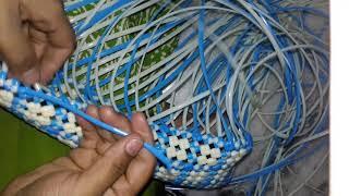 Star pattern basket part 2 in telugu