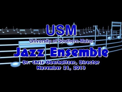 USM Jazz Ensemble - Fall 2013