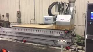 2001 Weeke BHC-550 NB 4' x 10' CNC Machining Center Demo - RT Machine Company