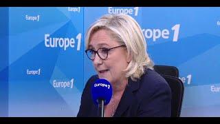 Marine Le Pen sur la hausse du prix des carburants :