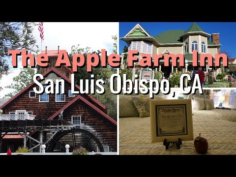 Spring tour of the Apple Farm Inn - San Luis Obispo, CA
