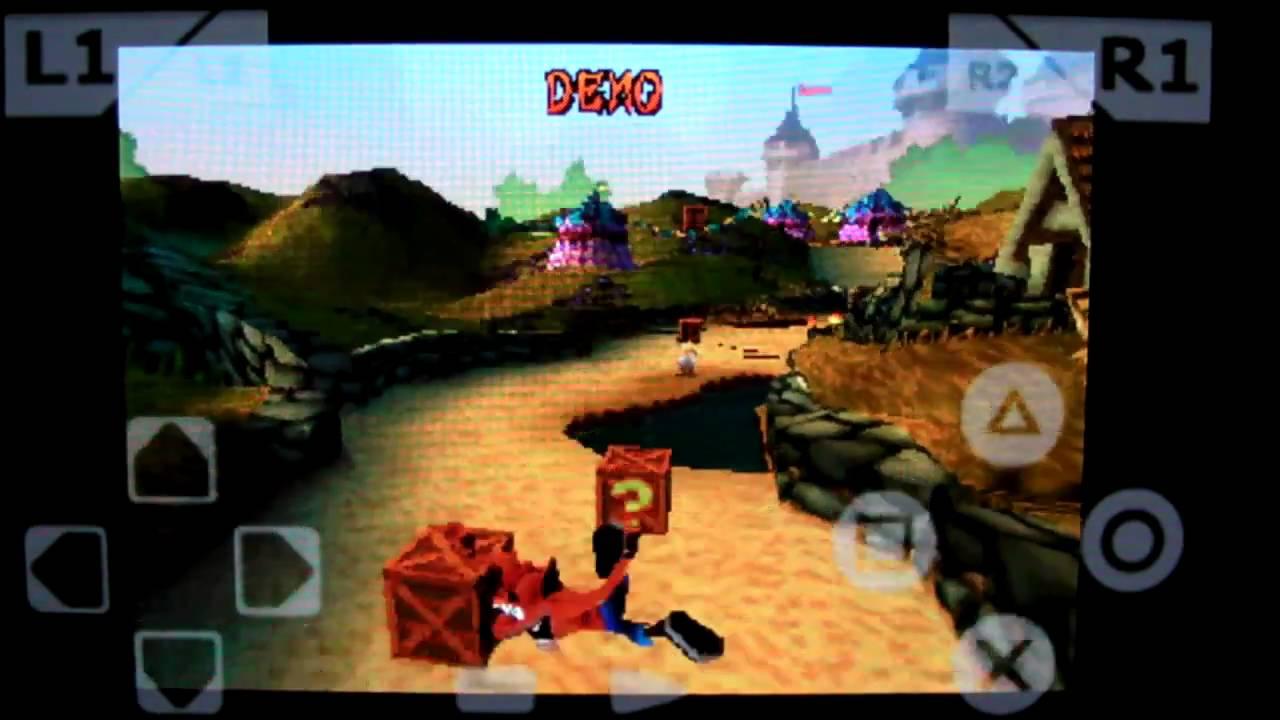 crash bandicoot 3 warped para xperia play