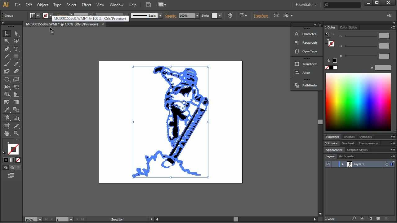 How To Create SVG Files For VideoScribe In Illustrator PART 1  YouTube