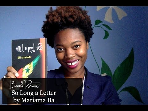 So Long A Letter by Mariama Ba -Review