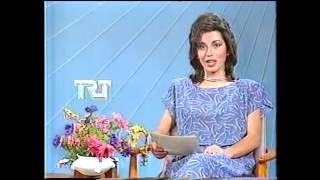 Spor Haberleri Ve Hava Durumu TRT 1986