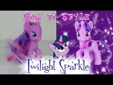 mlp hair styling tutorial mlp twilight sparkle hair styling tutorial my 5121