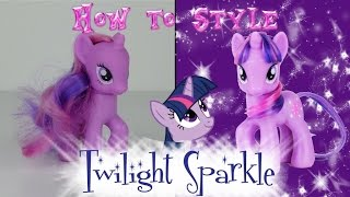MLP Twilight Sparkle Hair Styling Tutorial -- My Little Pony Fever