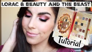 LORAC x Beauty and the Beast Collection   Tale As Old As Time   Eyeshadow Tutorial   Katie Marie
