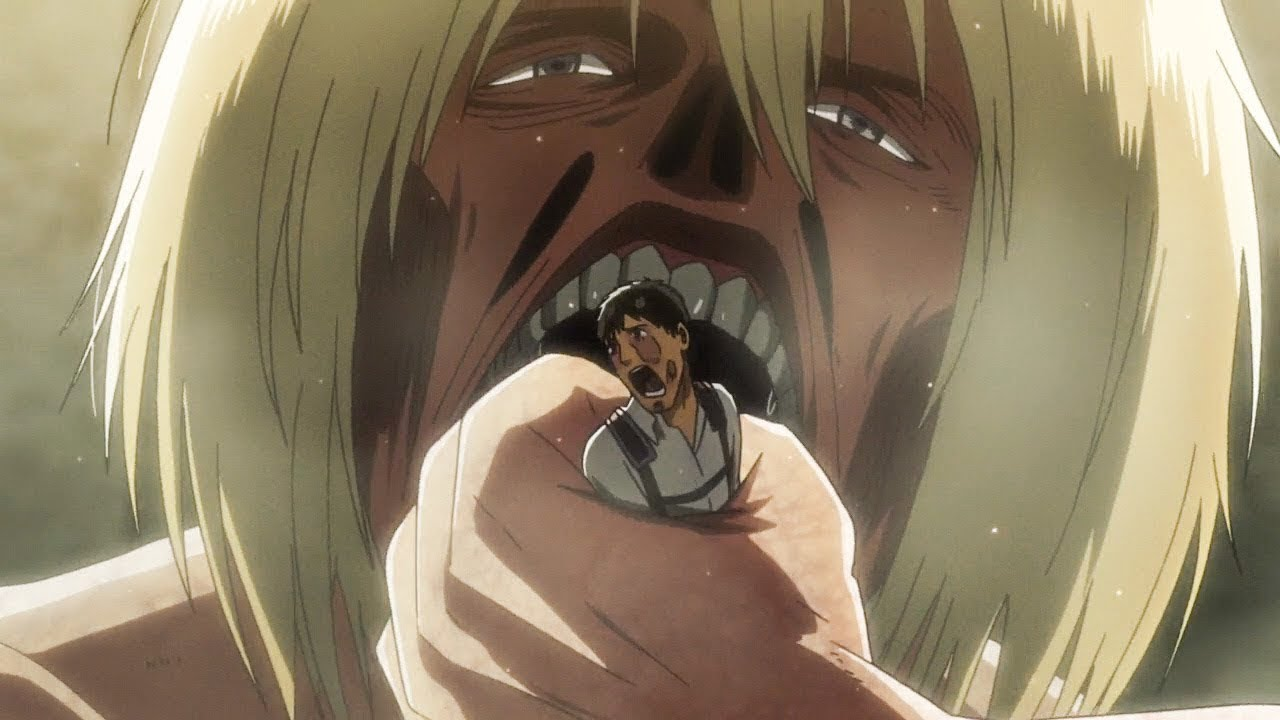 Armin Eats Berthold And Became The Colossal Titan [Attack ...